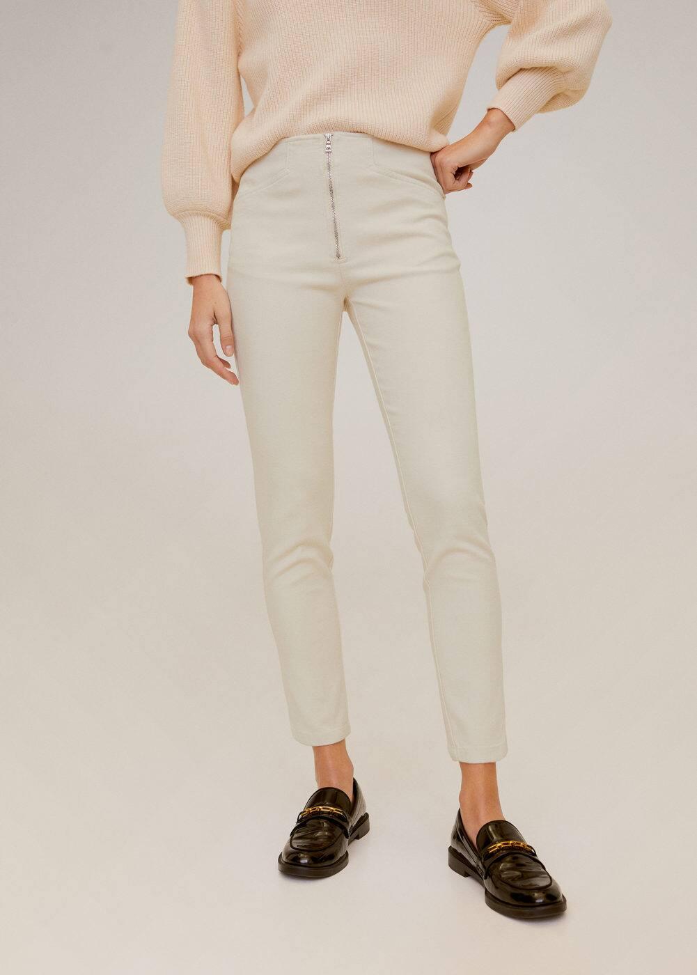 m-lucia:pantalon pitillo cremallera