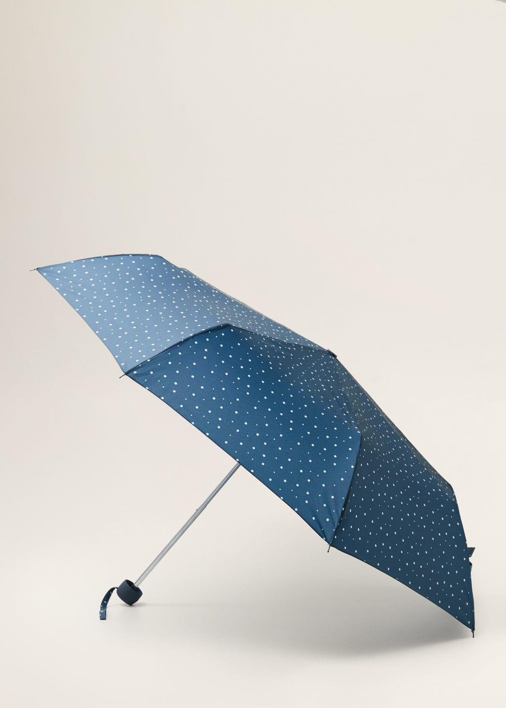 m-punto:paraguas plegable lunares