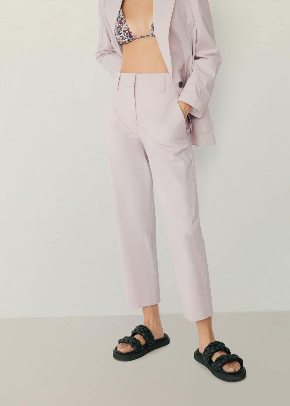 m-studio:pantalon recto traje