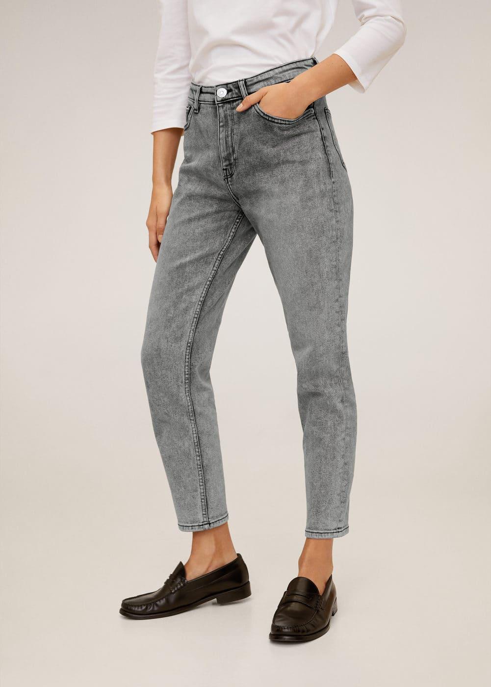 m-mom:jeans slim mom
