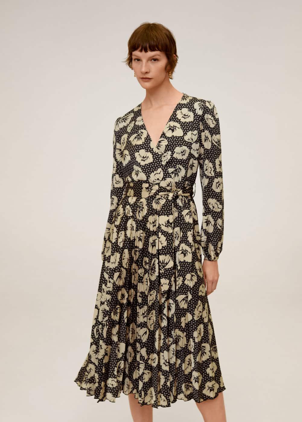 Платье -- -  Женская | Mango МАНГО Россия (Российская Федерация)