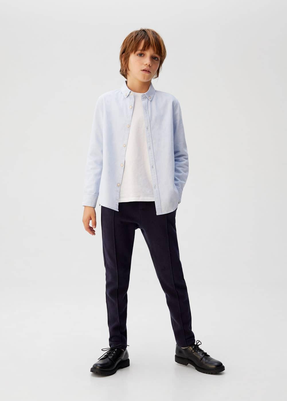 o-jet:pantalon recto costura