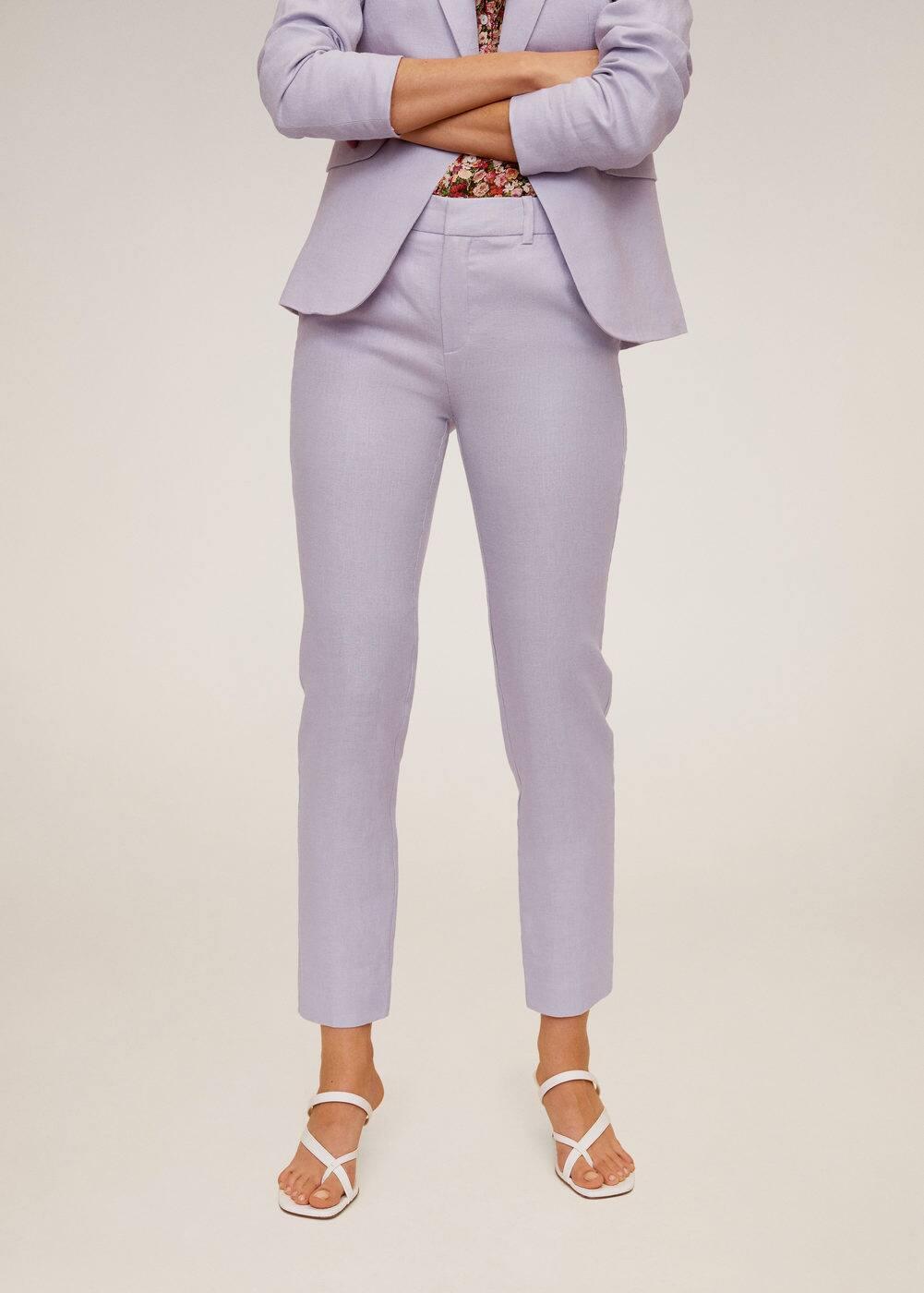m-boreli:pantalon lino