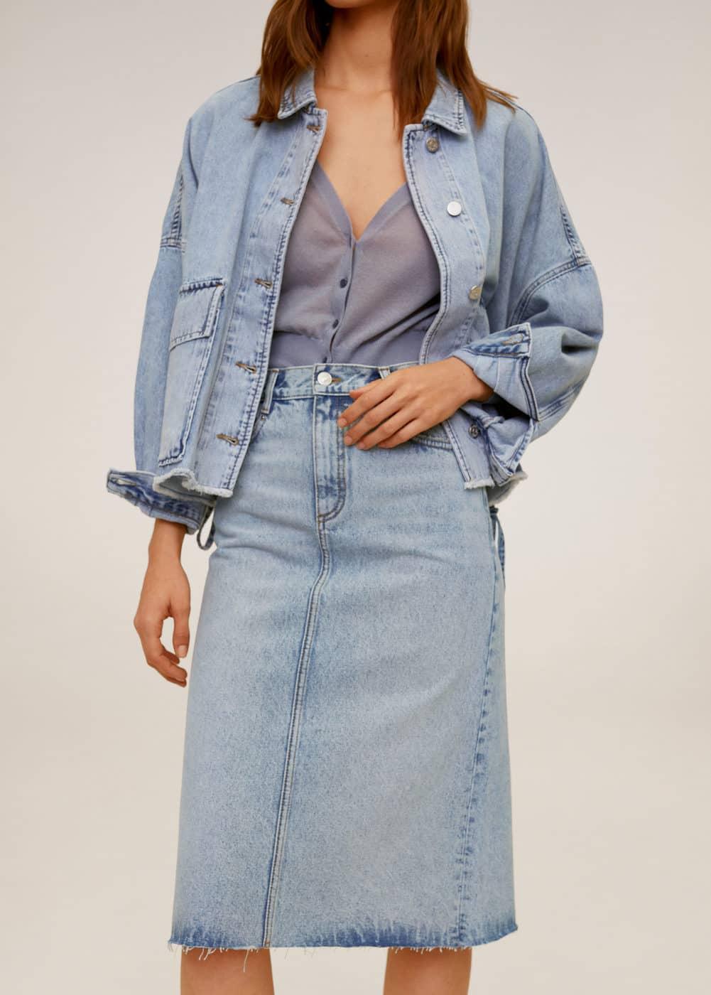 m-valeria:falda denim