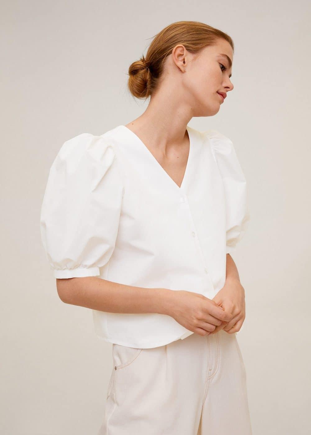 m-cretona6:blusa manga abullonada