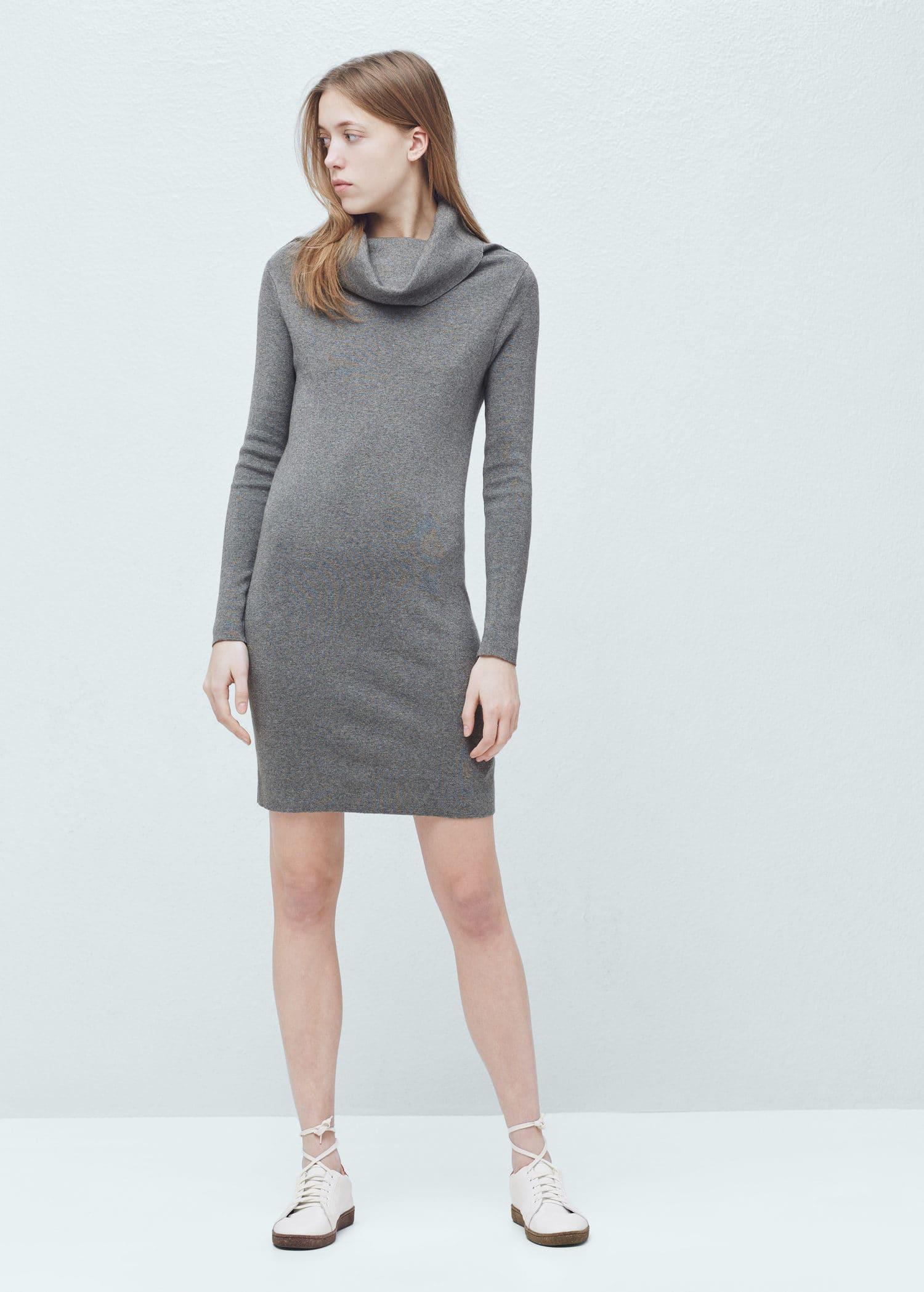 Blend Dress Knit Knit Cotton Blend Dress Cotton Knit Cotton 8w00HOqB
