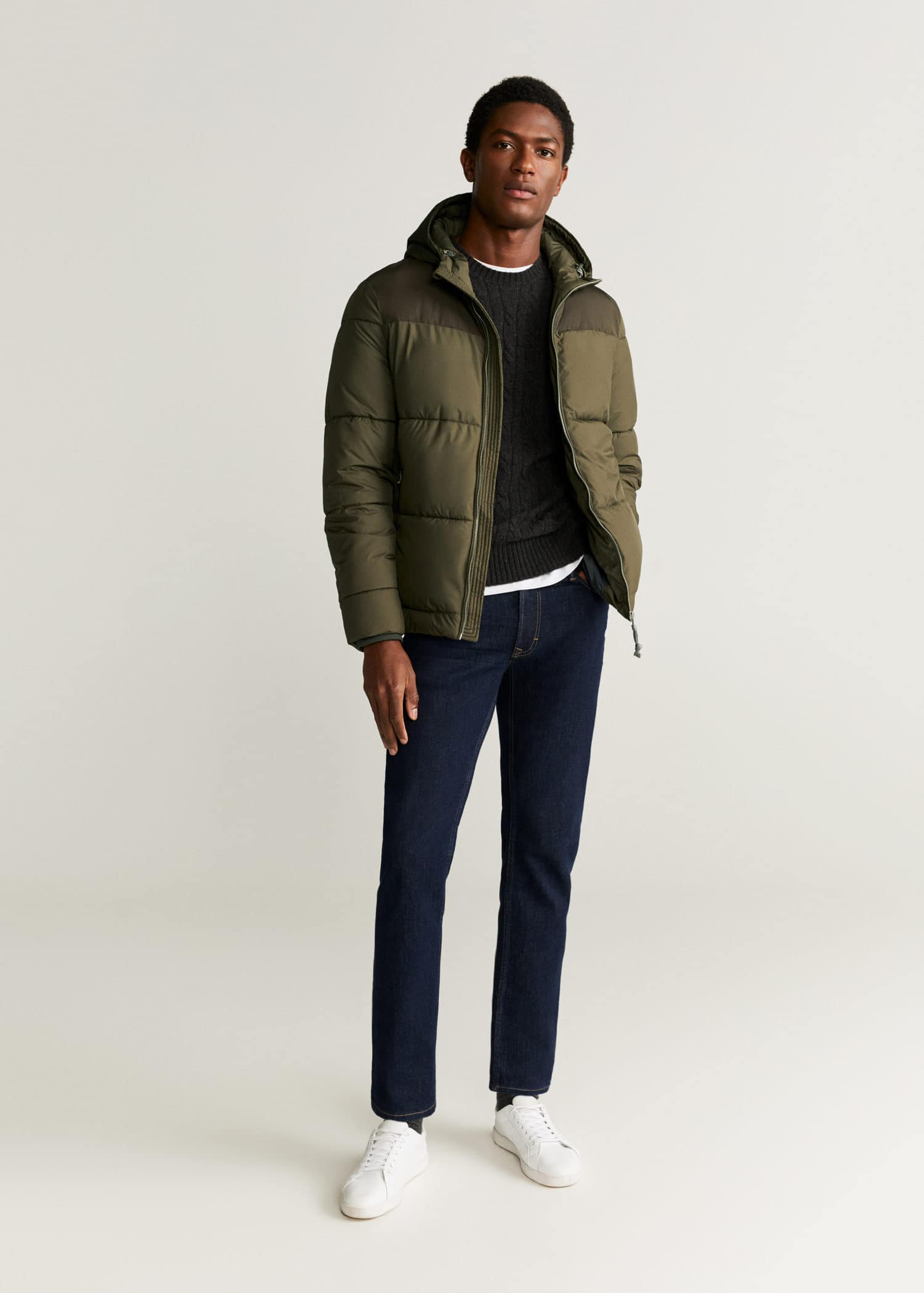 style a puffer jacket