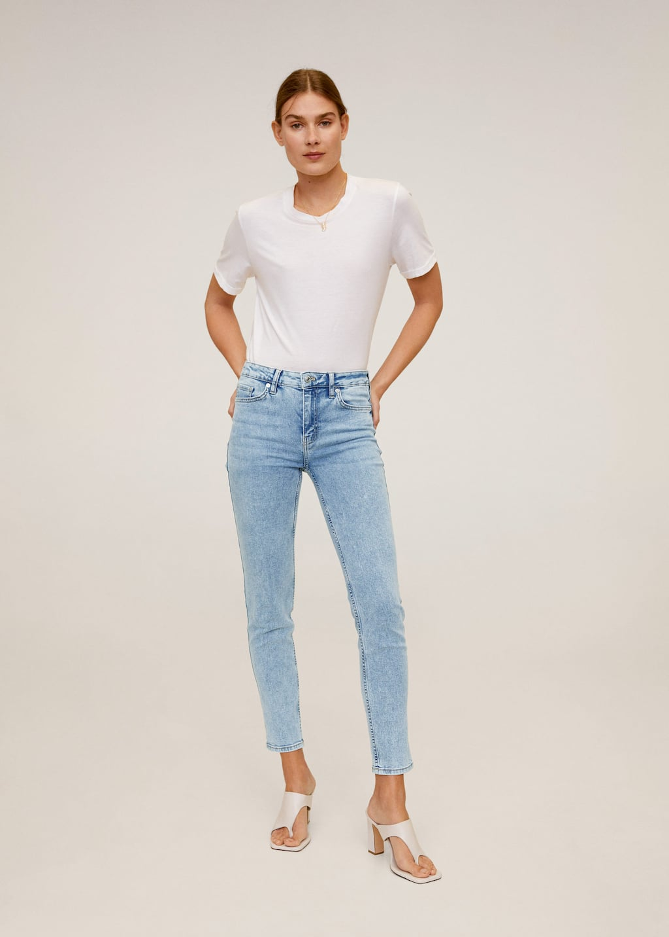 Jeans Skinny Sculpt Mujer Mango Espana