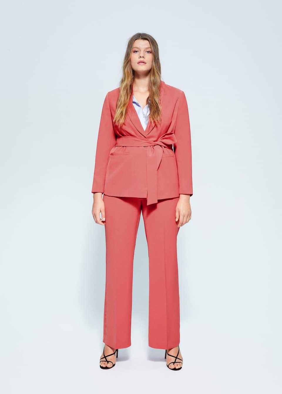 Structured suit blazer - General plane