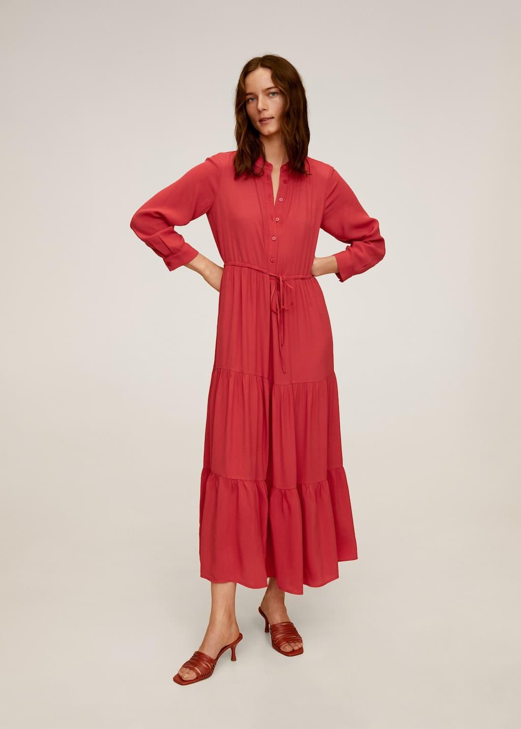 lange jurken combineren