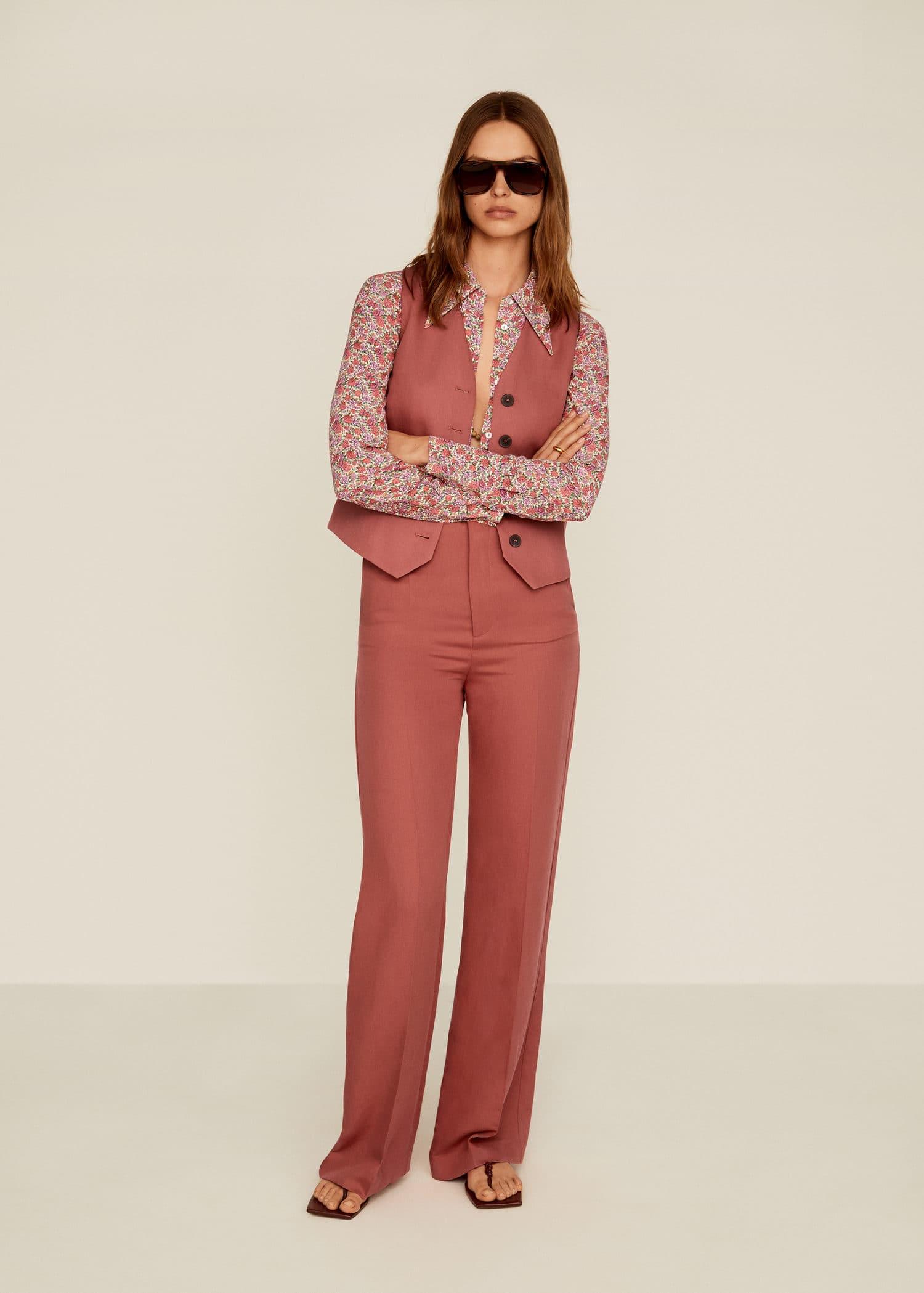 tailleur pantalon mango
