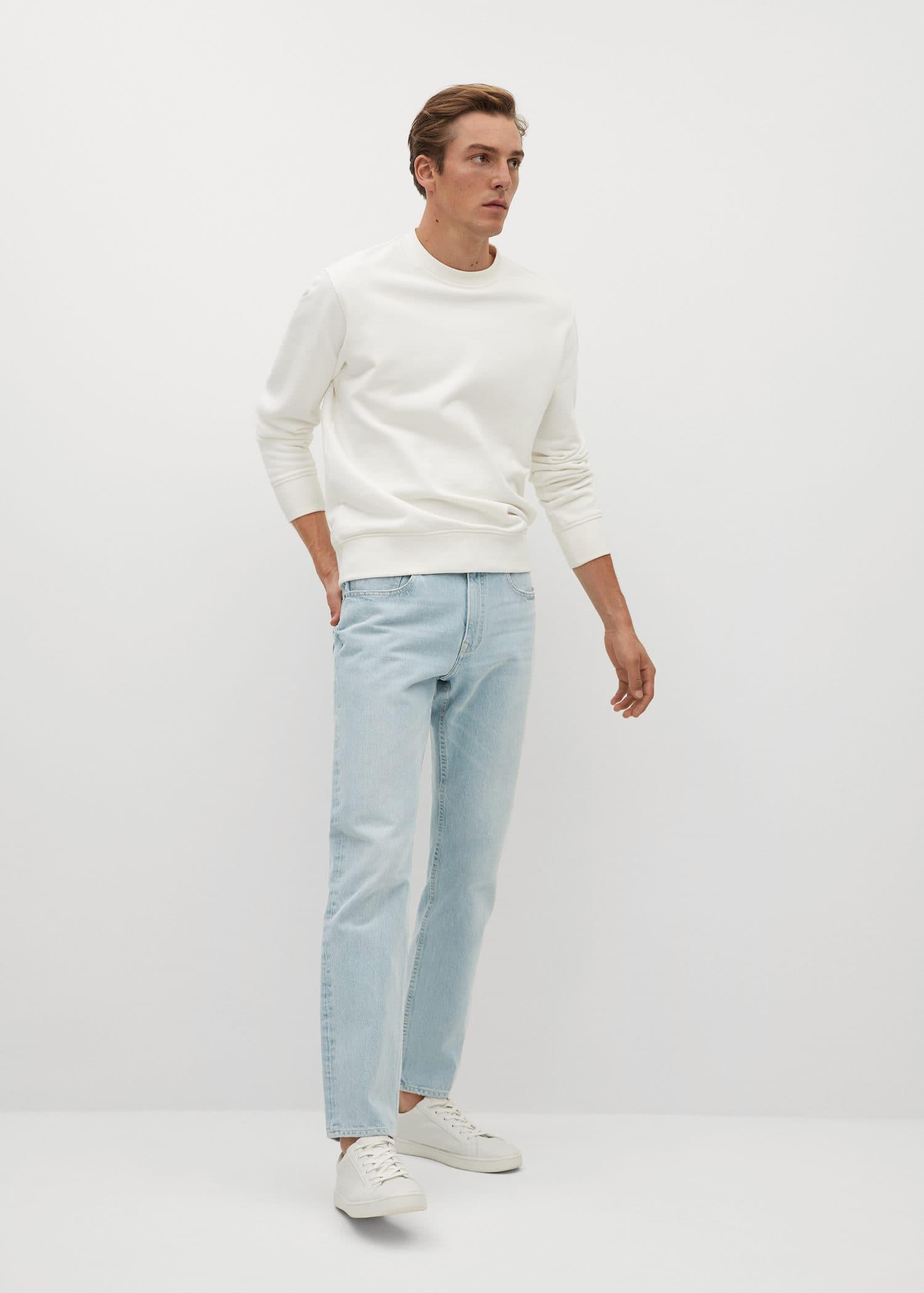 Jeans bob regular fit lys vask Menn | Mango Man Norge
