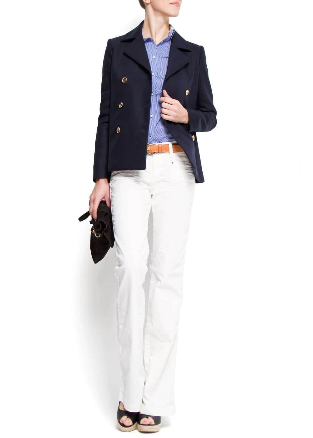Double breasted blazer | MANGO