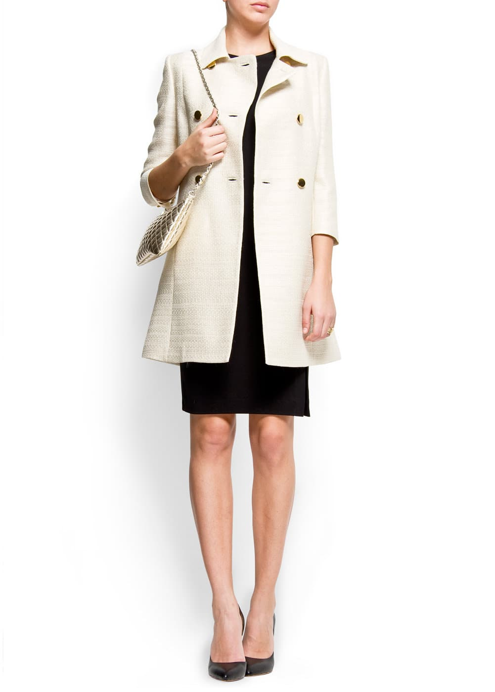 Double brested coat | MANGO