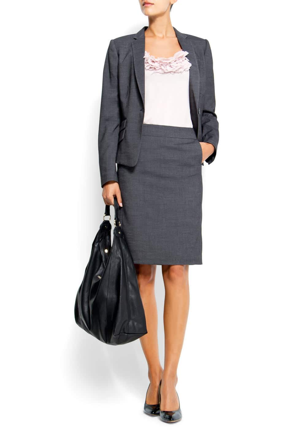 Slim-fit suit jacket | MANGO