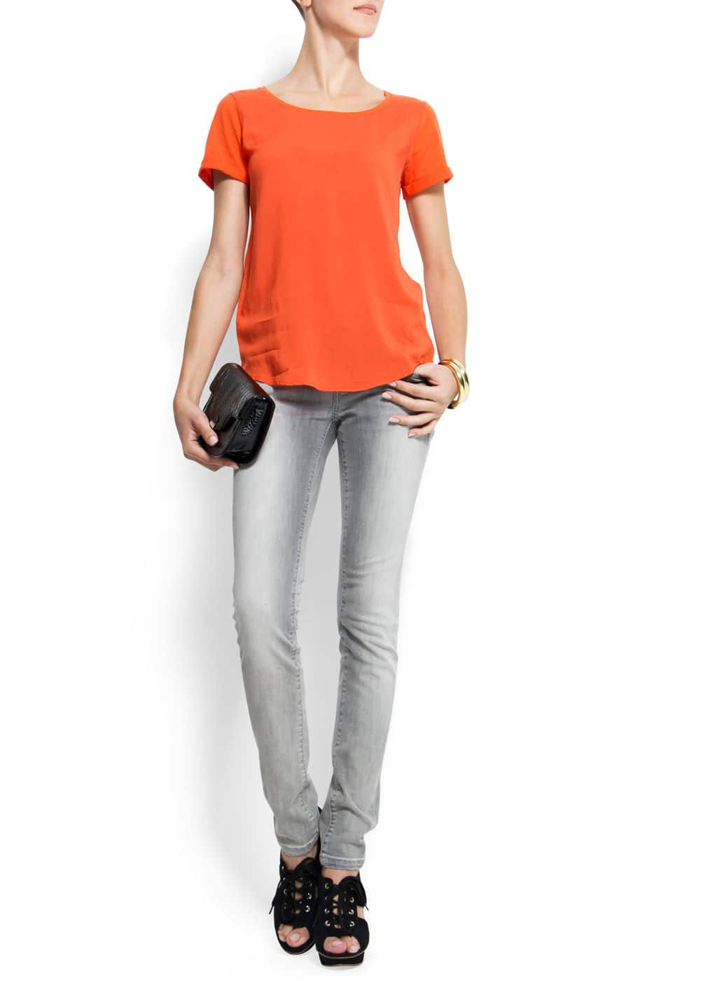 Relaxed-fit t-shirt | MANGO