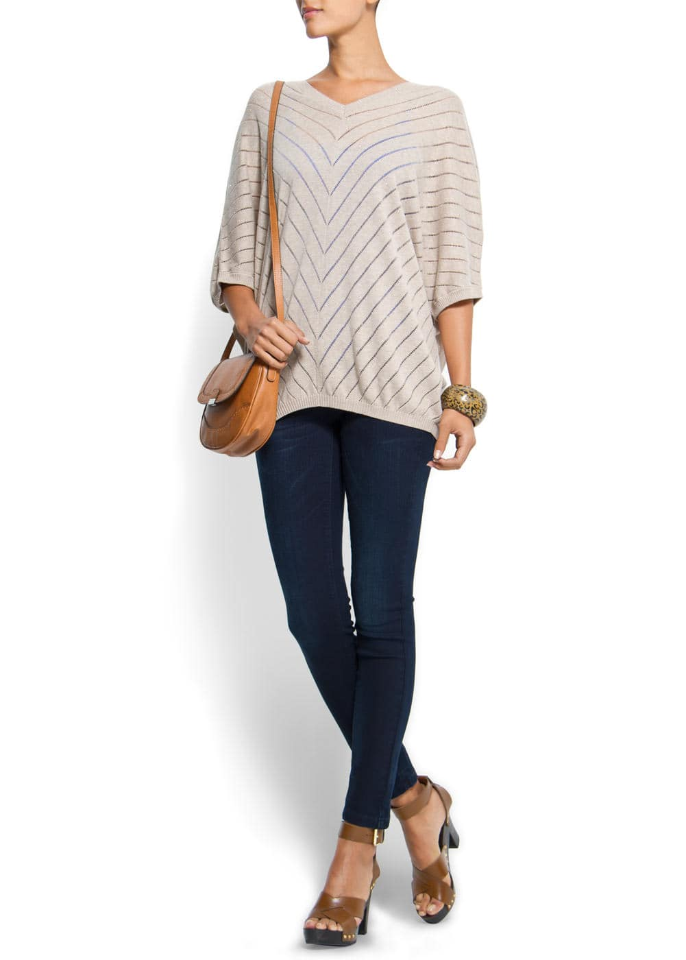 Oversize knit jumper | MANGO