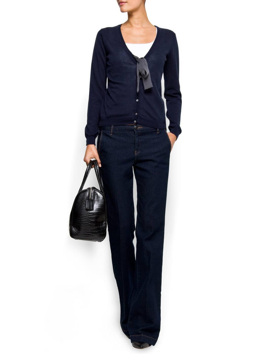 Bow cotton cardigan | MANGO