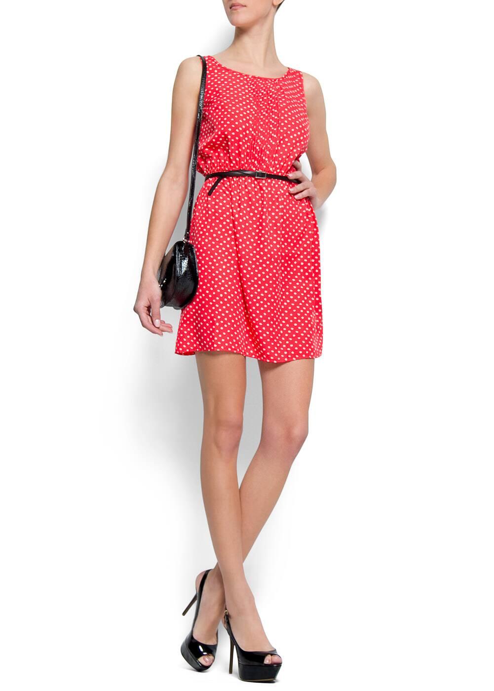 Polka dot dress | MANGO