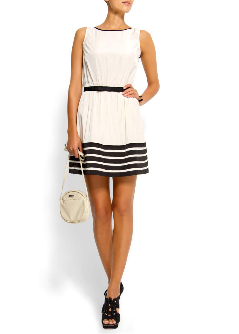 Flared skirt dress | MANGO