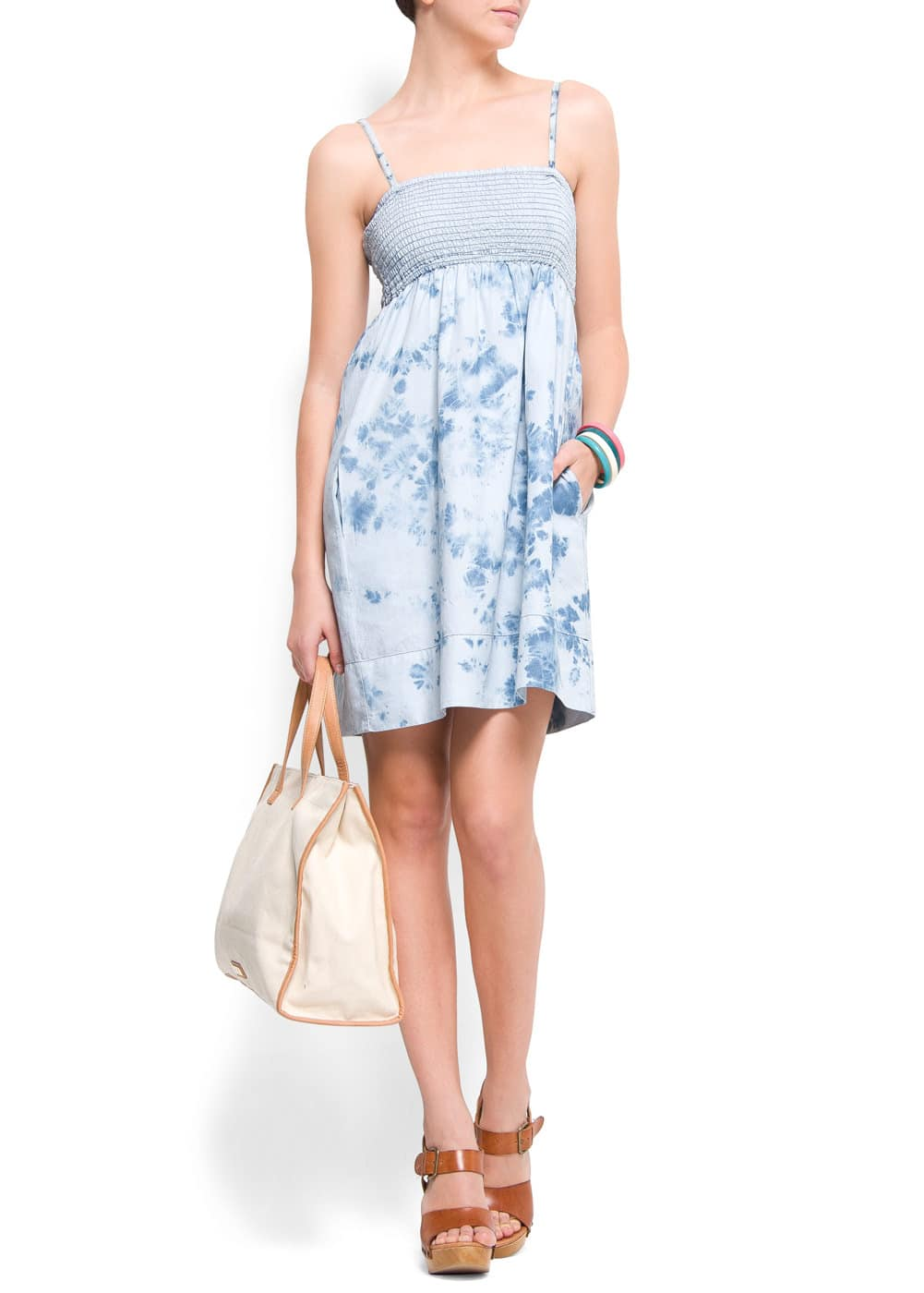 Tie-dye dress | MANGO