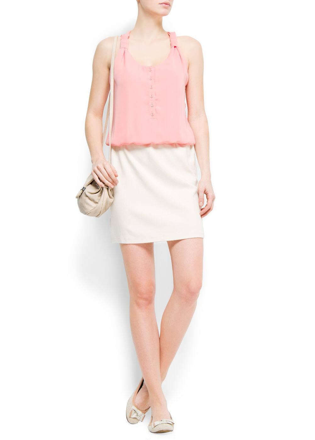 Combi dress | MANGO
