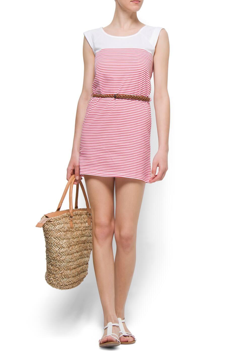 Sailor cotton dress | MANGO