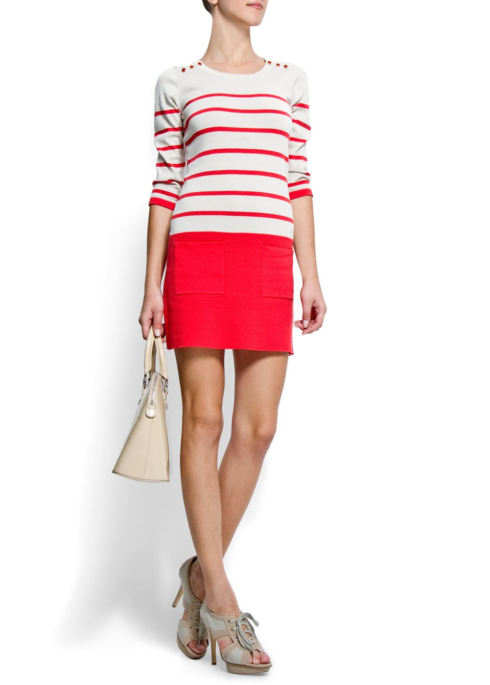 Striped dress | MANGO