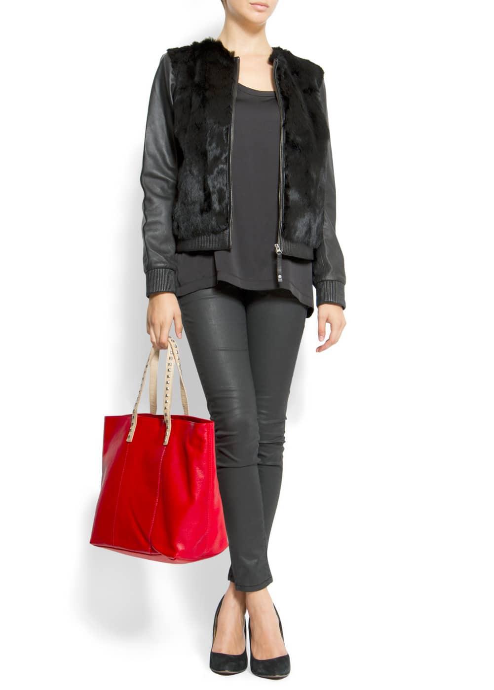 Stud shopper | MANGO