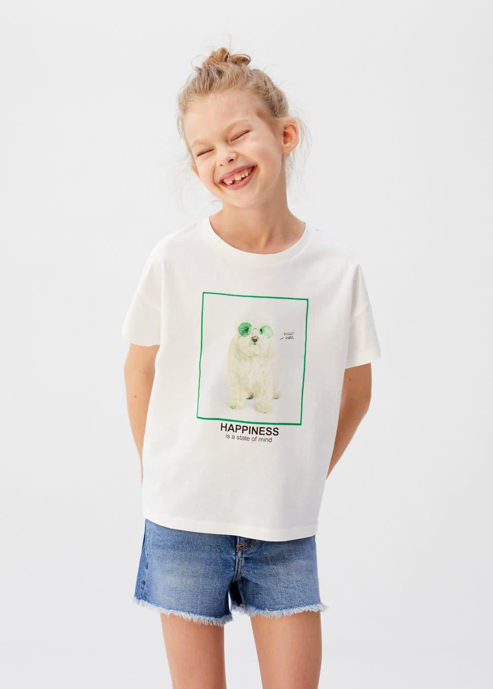 a-dogs:camiseta estampada perro