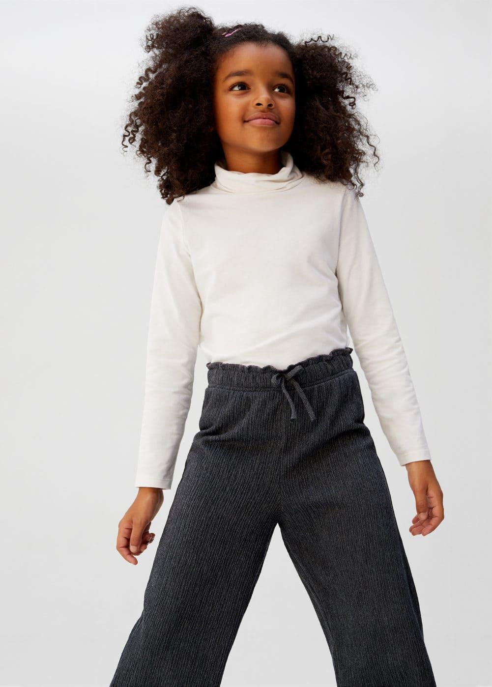 a-sandra:pantalon recto textura