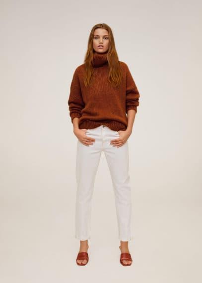 mango - Pullover mit rundem ausschnitt