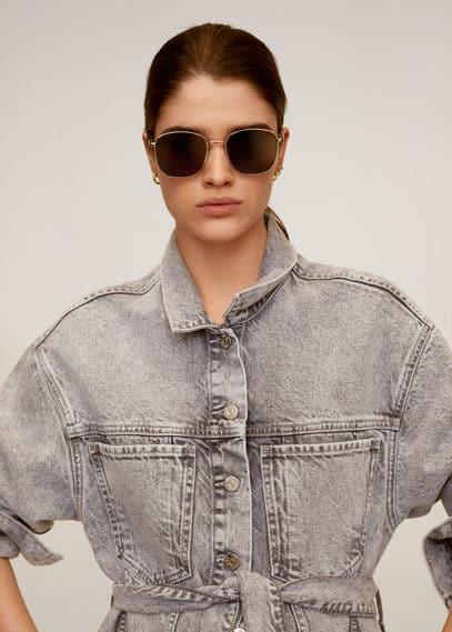 mango - Sonnenbrille aus metall