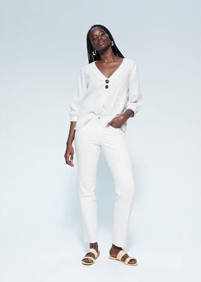 Блузка 100% лен - Cute6