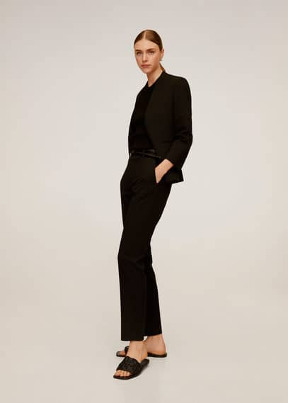 Костюмные брюки с ремнем - Boreal6 от Mango