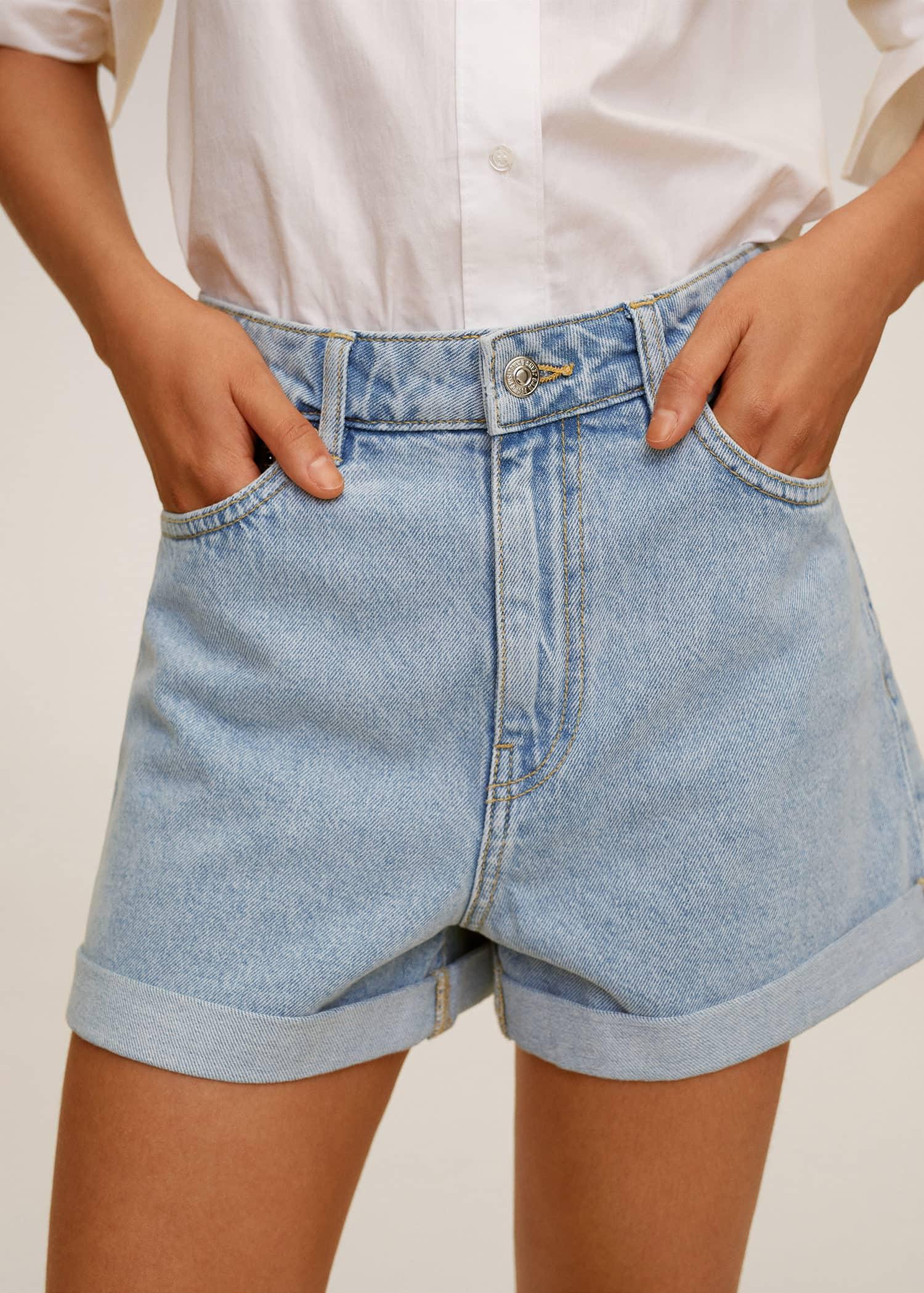 short en jean femme taille 44