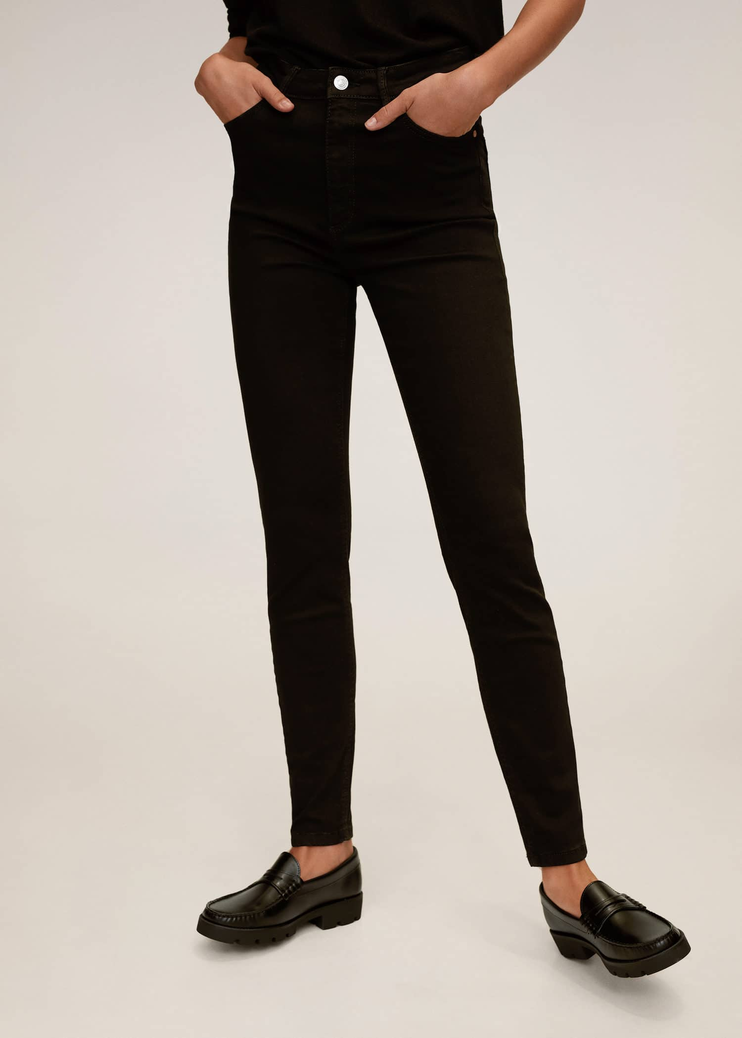 mango pantalon femme noir noa