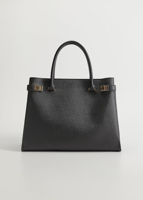 Grained Tote Bag