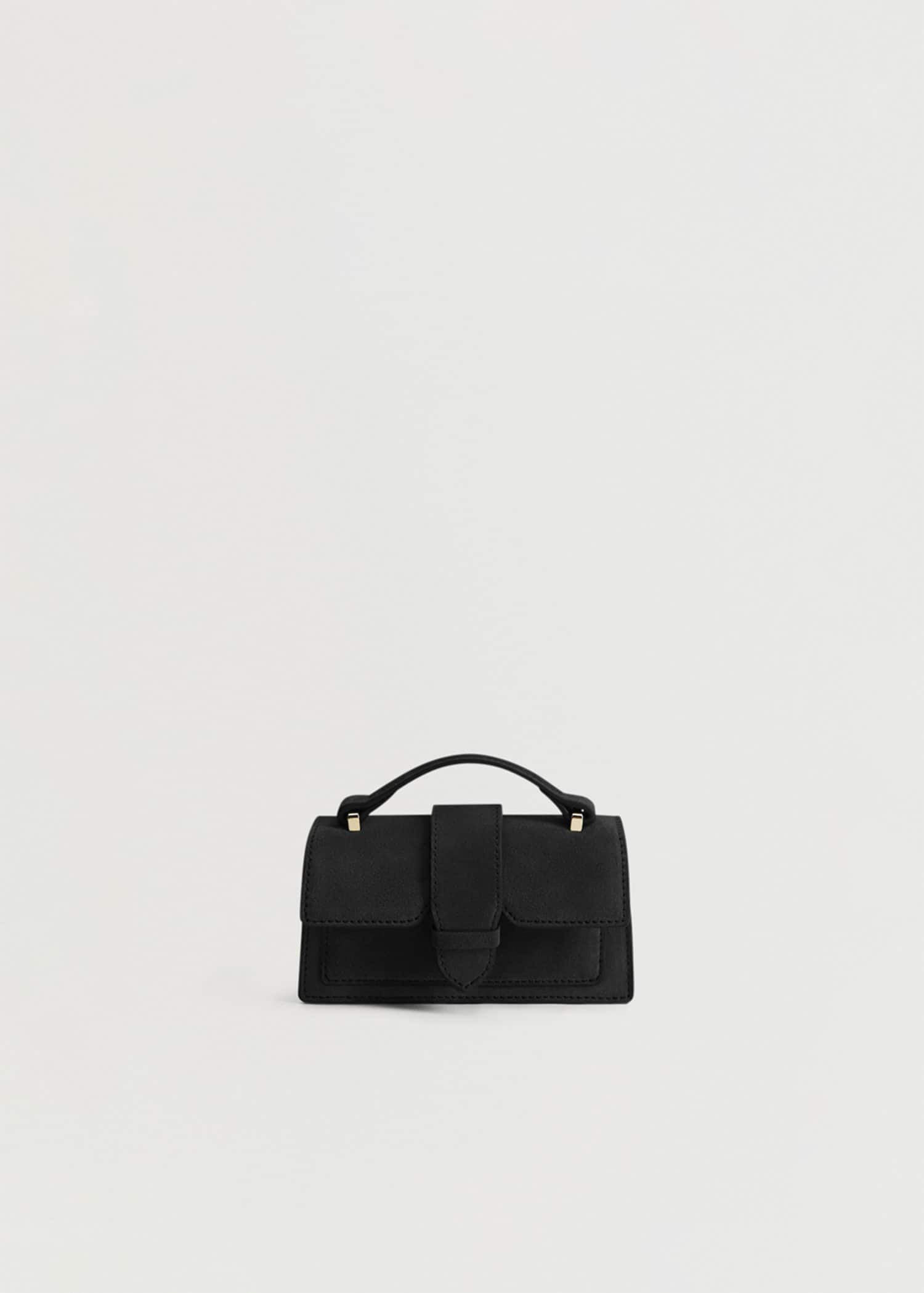 Mini sac cuir - Femme | Mango France (Guyane Française)