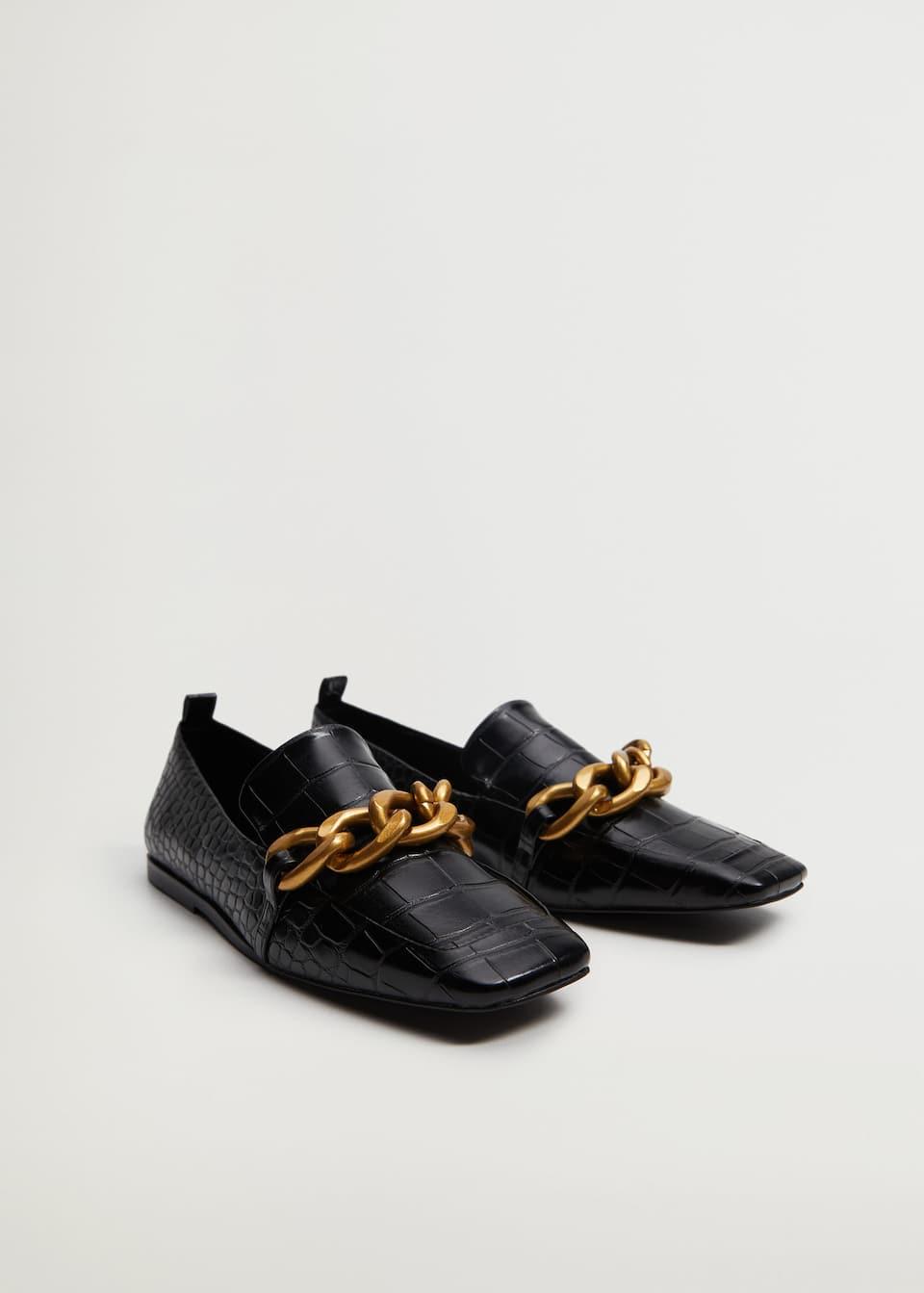 Chain loafers - Medium plane