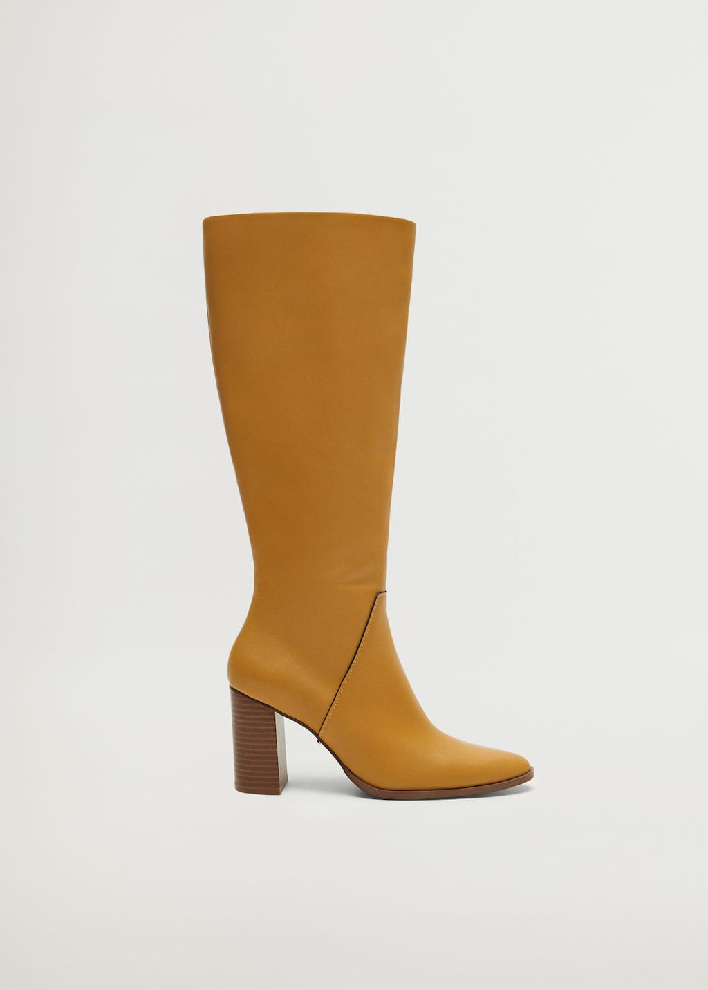 Leather high-leg boots - Article without model