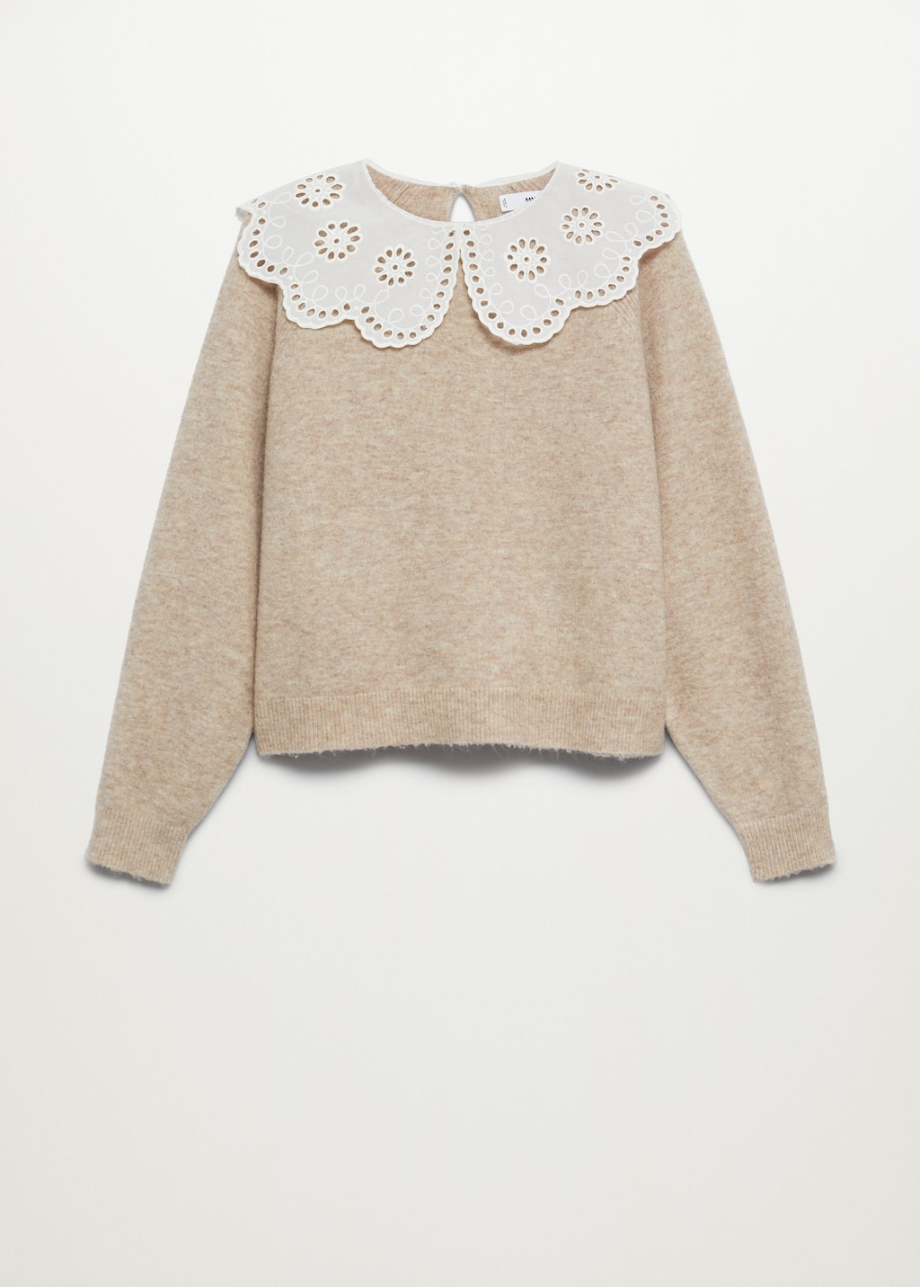 Baby doll neck sweater - Article without model