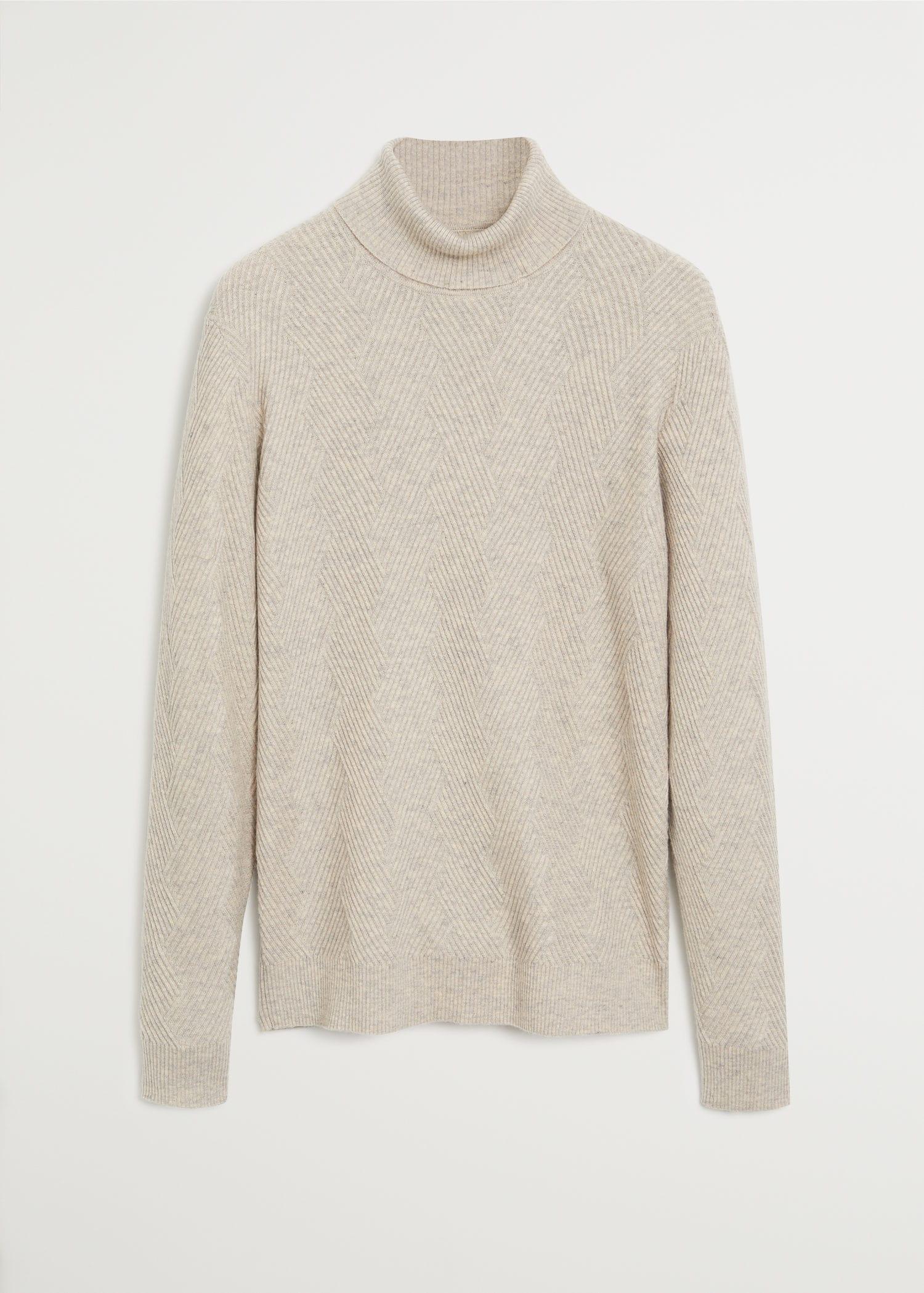 100% merino wool washable sweater Men | Mango Man USA