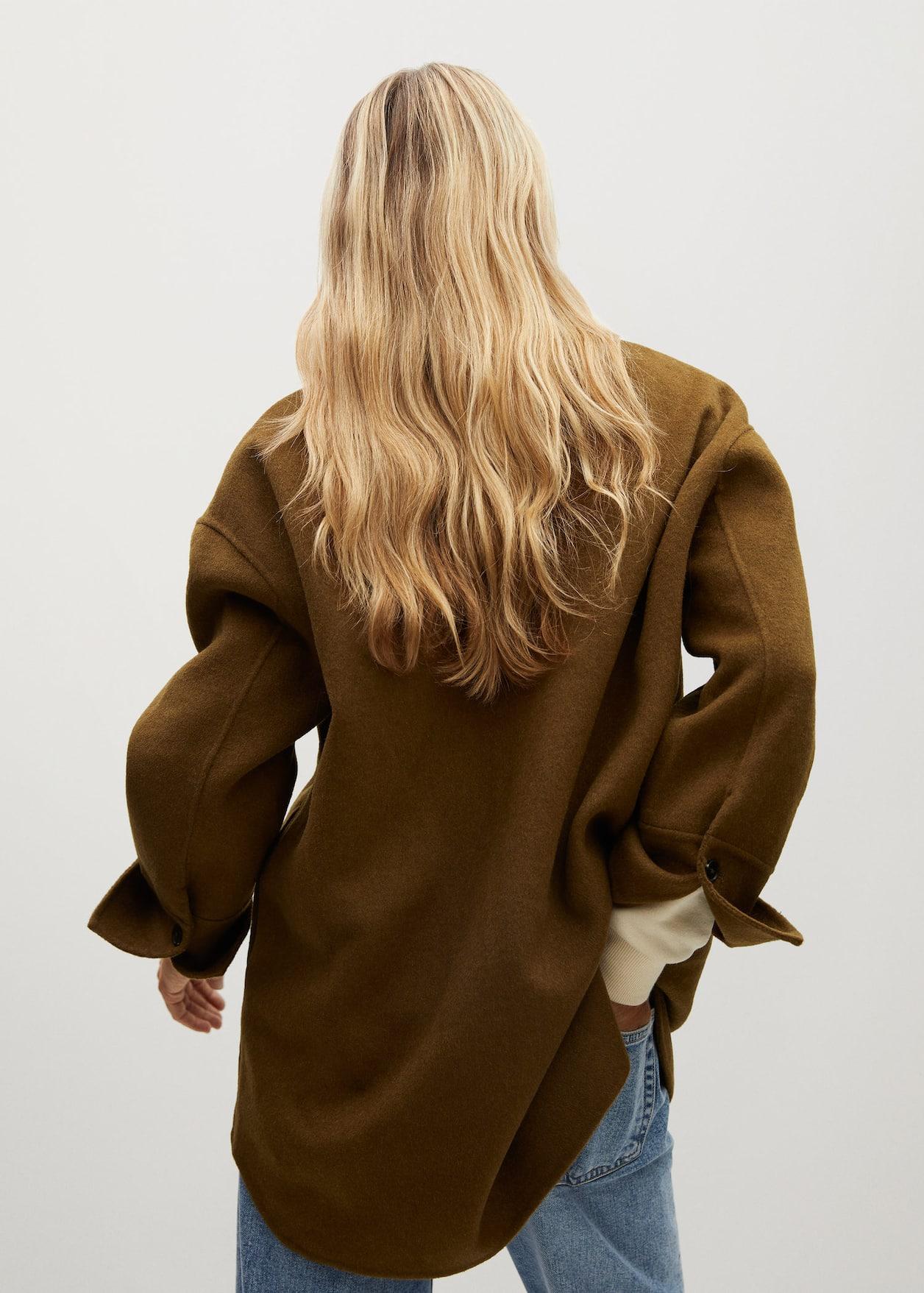 Верхняя Одежда | Куртка из шерсти Mango