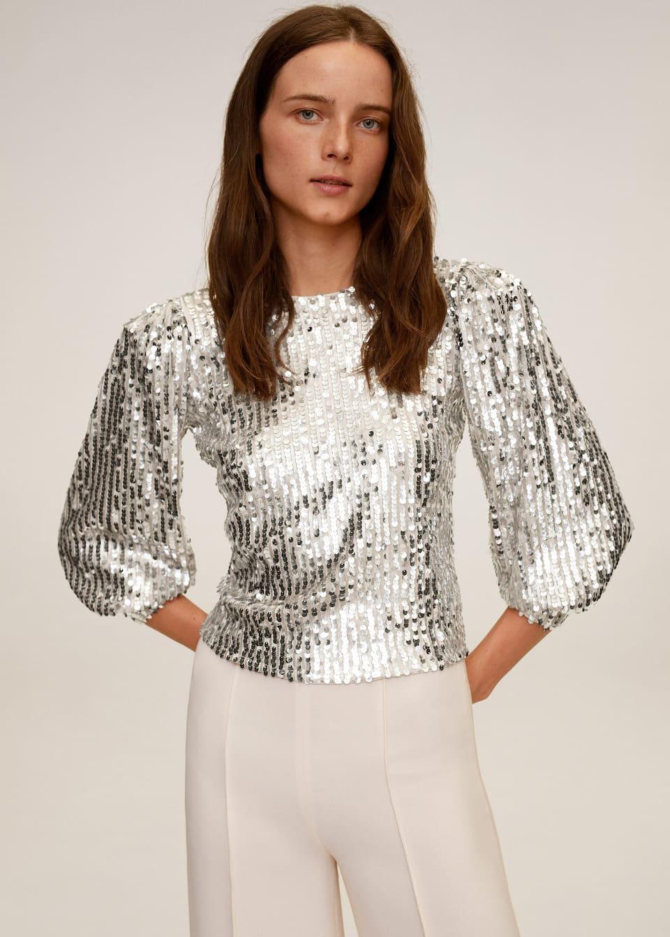 Sequin blouse - Medium plane