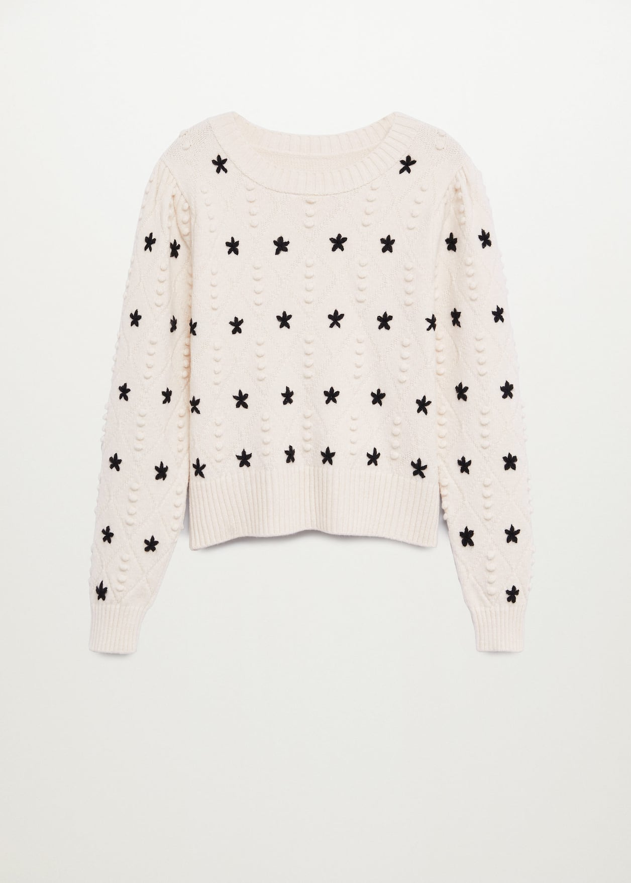 Stars knitted sweater - Article without model