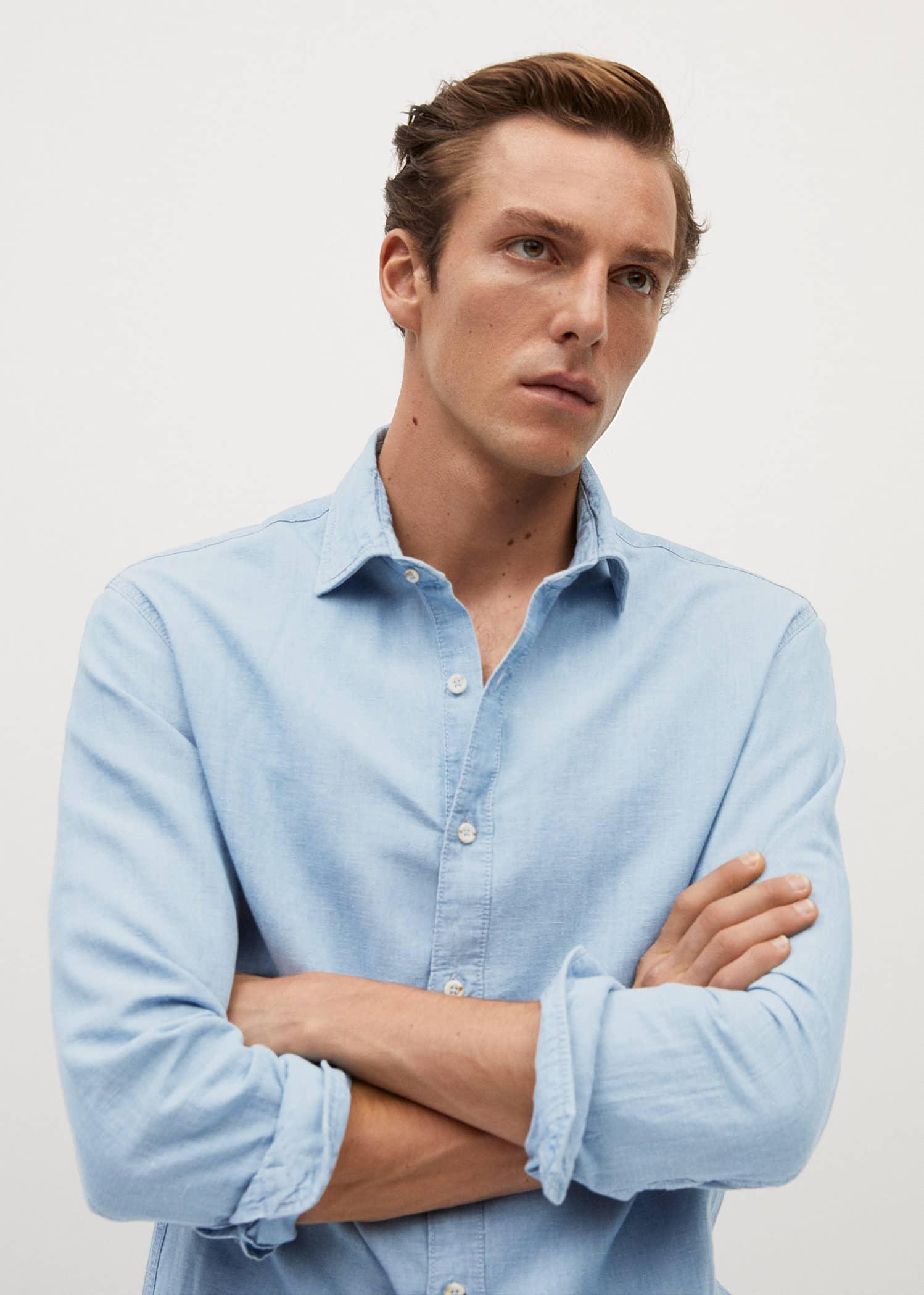skjorta utan knappar