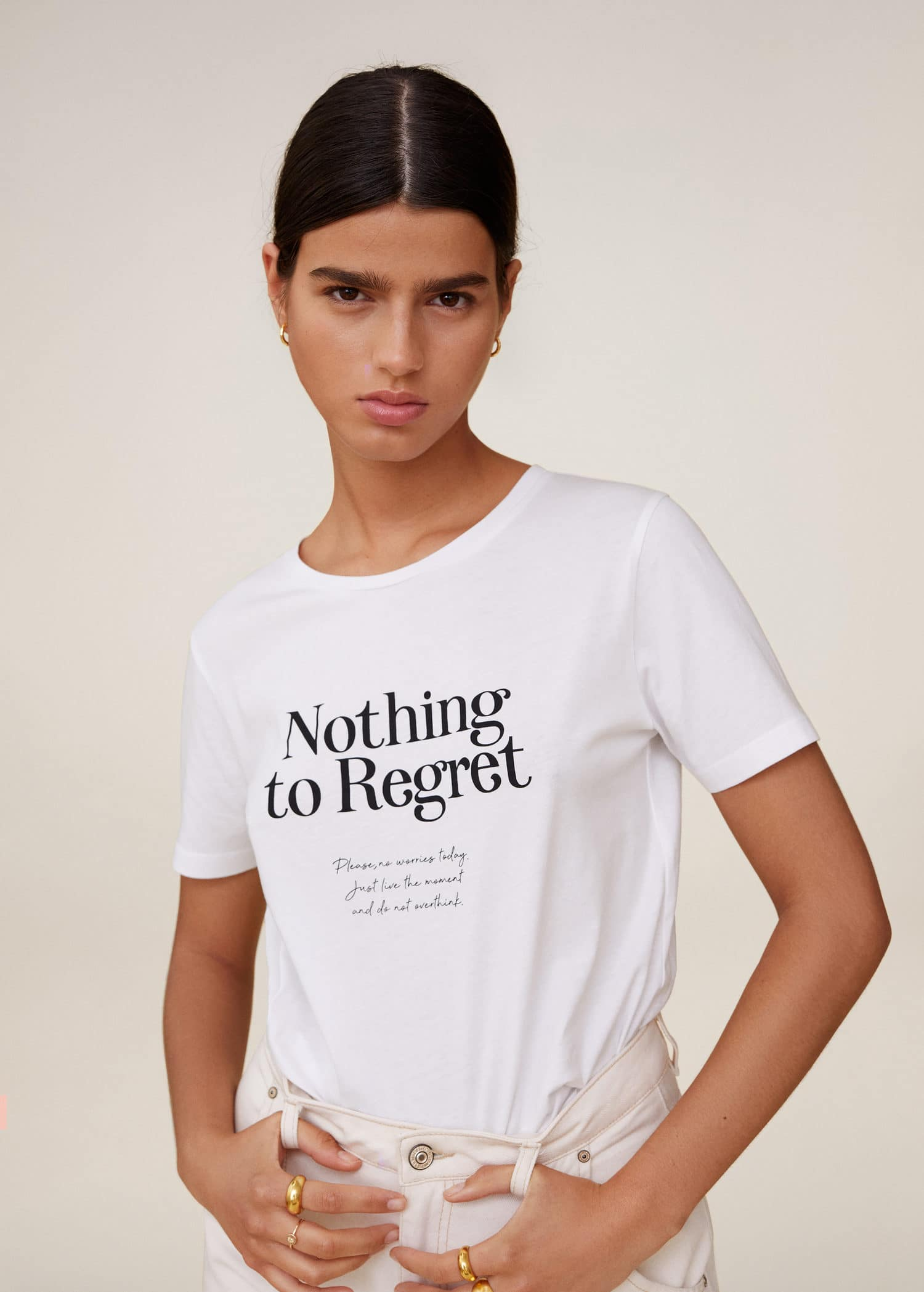 Organic Cotton Top Organic Rolled Sleeve Tee Ethical Womenswear Womens Printed Shirt Sacred Geometry Womens Geometric T-shirt