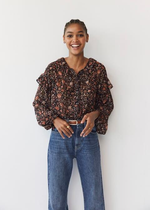 Blusa estampado floral - Detalle del artículo 4