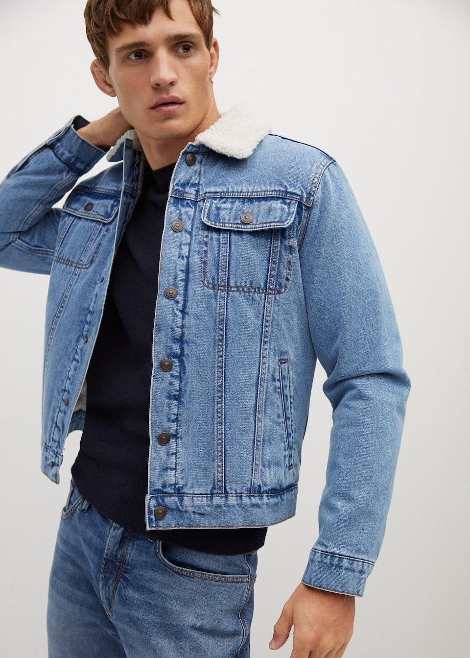 shearling / pile jacket